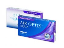 Air Optix Aqua Multifocal (6 šošovky)