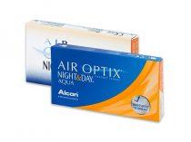 Air Optix Night & Day Aqua (3 šošovky)
