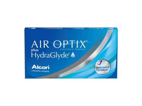 Air Optix Plus HydraGlyde (3 šošovky)