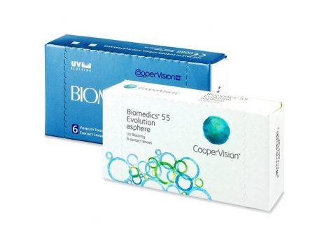 Biomedics 55 (6 šošovky, BC: 8.8)